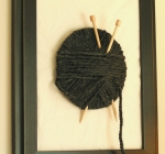 yarn lover's wall decor