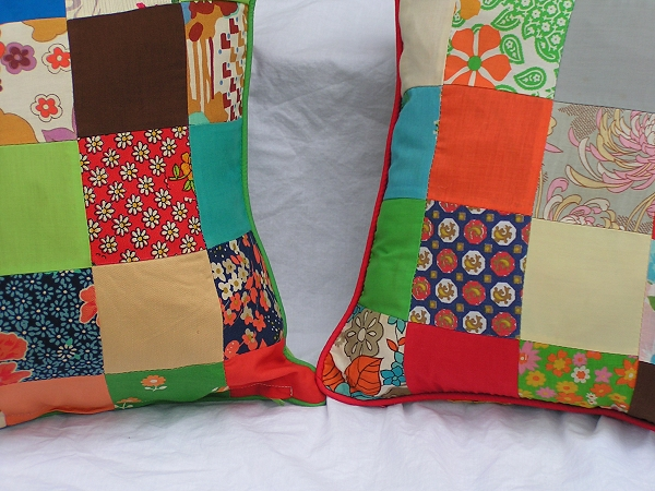 Pair of Vintage Pillow Covers